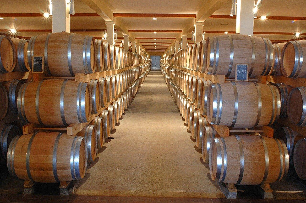 winery, chai, barrel